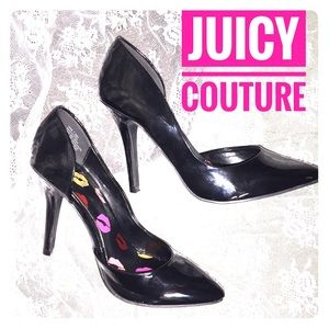 Juicy👑Couture: Shiny Sole💋Kissed Pumps
